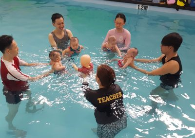 Little Splashes Aquatics - Infant Swimming Lesson